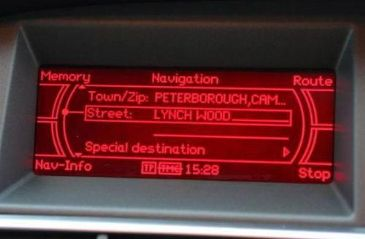 CD Audi Navigation MMI BASIC Navigation Update Map